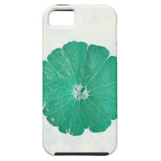 Caja verde extraña de la flor iPhone5 iPhone 5 Case-Mate Fundas