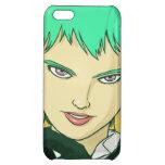 Caja verde femenina de Iphone 5