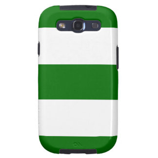 Caja verde fresca de la galaxia de Samsung del dis Galaxy SIII Funda