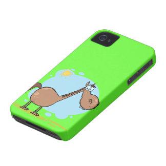 Caja verde linda del iPhone 4 del caballo iPhone 4 Case-Mate Carcasas