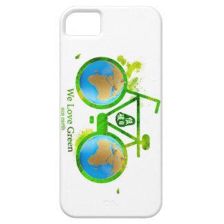 Caja verde respetuosa del medio ambiente ambiental iPhone 5 Case-Mate carcasas