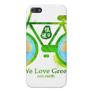 caja verde respetuosa del medio ambiente de Samsun iPhone 5 Protector