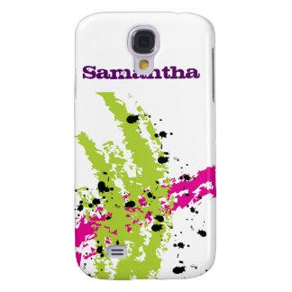 Caja verde rosada de la mota del iPhone 3 de la ti