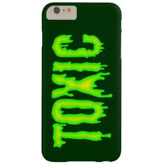 Caja verde tóxica del teléfono funda barely there iPhone 6 plus