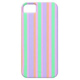 Caja verde y anaranjada púrpura rosada del iPhone 5 fundas