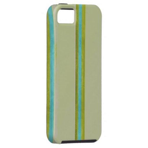 Caja verde y azul de IPhone 5 iPhone 5 Case-Mate Cobertura