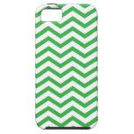 Caja verde y blanca del iPhone 5 del modelo de zig iPhone 5 Case-Mate Carcasas