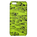 Caja verde y negra del iphone