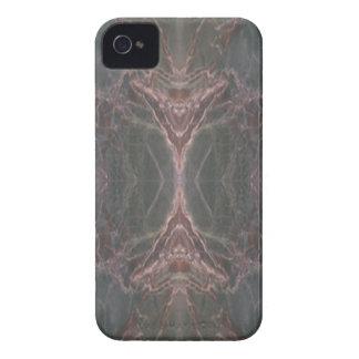 Caja vertical de mármol verde del iPhone 4 del mod iPhone 4 Case-Mate Protector