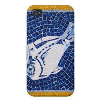 Caja vibrante de la mota del iPhone 4 del mosaico  iPhone 4 Funda
