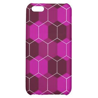 Caja (violeta) del iPhone del avispero