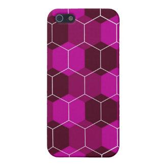 Caja (violeta) del iPhone del avispero iPhone 5 Cárcasas