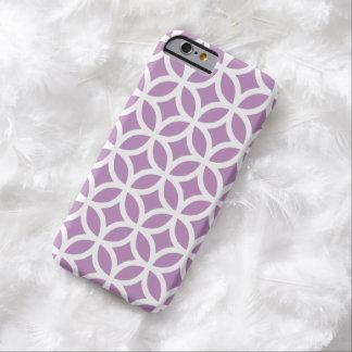 Caja violeta geométrica del iPhone 6 Funda De iPhone 6 Barely There
