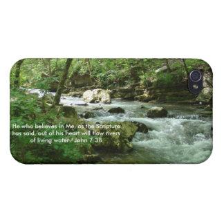 Caja viva 2 del agua iPhone 4 cárcasas