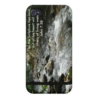 Caja viva 3 del agua iPhone 4 carcasas