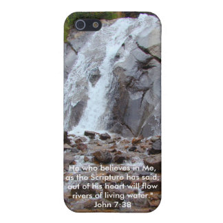 Caja viva del agua iPhone 5 protector