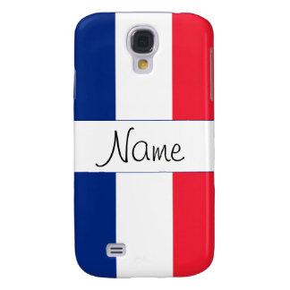 Caja viva del teléfono de HTC de la bandera france Funda Para Galaxy S4