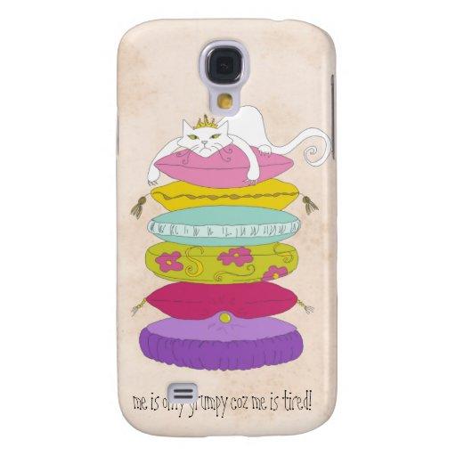 Caja viva del teléfono de HTC del dibujo animado d Funda Para Galaxy S4