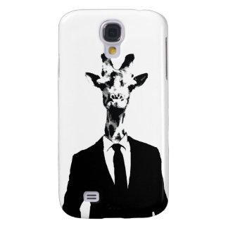 Caja viva del teléfono de Sr. Giraffe HTC Funda Para Galaxy S4