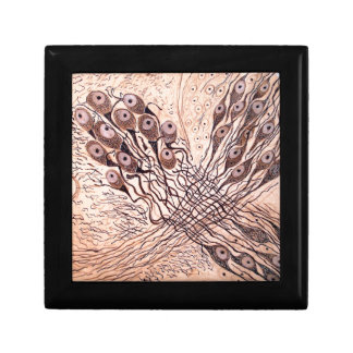 Cajal's Neurons 1 Jewelry Box