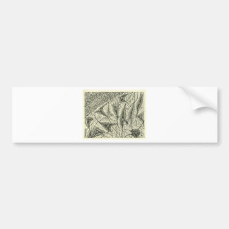 Cajal's Neurons 4 Bumper Sticker