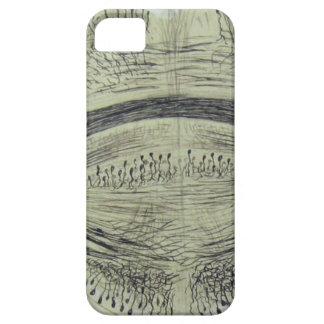 Cajal's spinal neurons - 5 iPhone SE/5/5s case