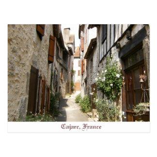 Cajarc France Postcard