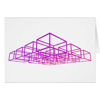 cajas 3D: Felicitación