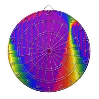 Cajas abstractas del arco iris
