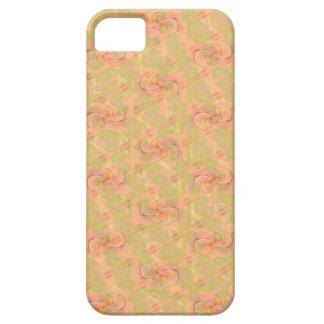Cajas abstractas florales del teléfono del iPhone 5 carcasa