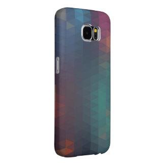 Cajas abstractas retras de la galaxia S6 de Fundas Samsung Galaxy S6