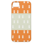 Cajas anaranjadas de Iphone 5s de las tripas del iPhone 5 Case-Mate Cobertura