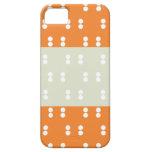 Cajas anaranjadas de Iphone 5s de las tripas del iPhone 5 Protector