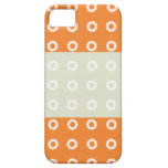 Cajas anaranjadas de Iphone 5s de las tripas del m iPhone 5 Case-Mate Cárcasas