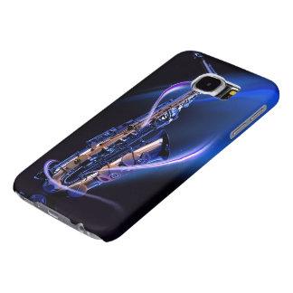 Cajas azules de la galaxia S6 de Samsung del Fundas Samsung Galaxy S6