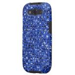 Cajas azules del teléfono del efecto de la lenteju samsung galaxy s3 protectores