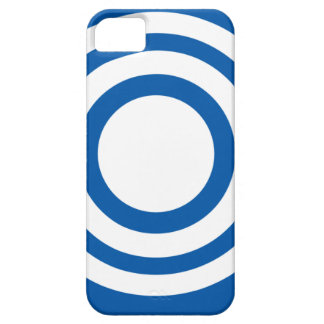 Cajas azules y blancas del teléfono del diseño de iPhone 5 funda