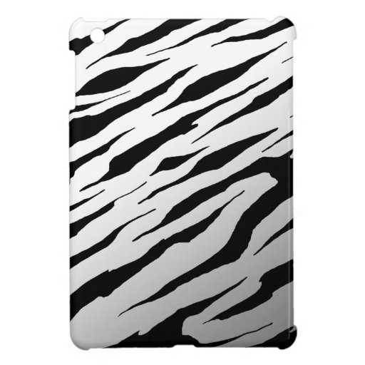 Cajas blancas del iPad de la raya del tigre