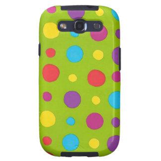 Cajas coloridas de la casamata de Samsung S3 de lo Samsung Galaxy S3 Coberturas