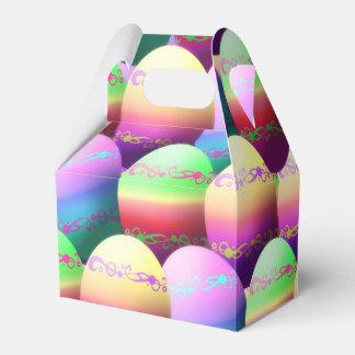 Cajas coloridas del favor de fiesta de los huevos caja para regalos de fiestas