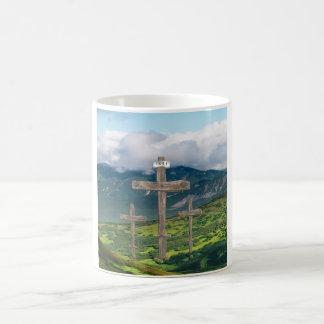 Cajas cristianas del teléfono taza