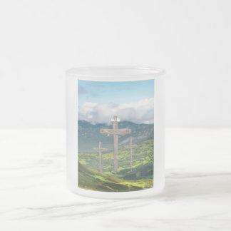 Cajas cristianas del teléfono taza de cristal