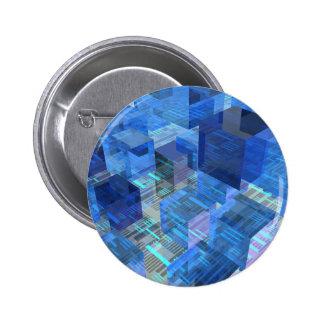 Cajas de azul pin