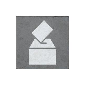 Cajas de caída gráficas imán de piedra