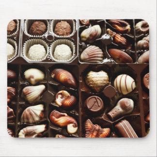 Cajas de chocolates de lujo tapete de ratones