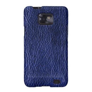 Cajas de cuero azules de la galaxia de Samsung de  Galaxy S2 Carcasa