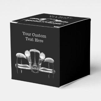 Cajas de encargo del favor del coche del vintage cajas para regalos de boda