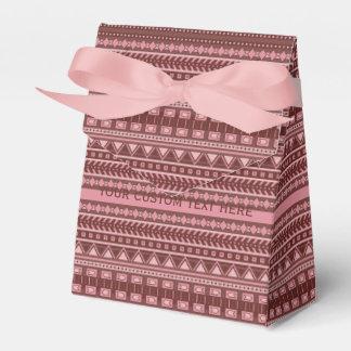 Cajas de encargo del favor del modelo azteca paquetes de regalo para fiestas