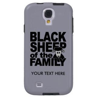 Cajas de encargo del teléfono de las ovejas negras funda para galaxy s4