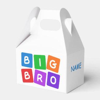 Cajas de encargo grandes del favor de Bro Cajas Para Regalos